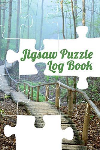Jigsaw Puzzle Log Book: Jigsaw Tracker Journal