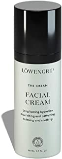Löwengrip The Cream 24H Facial Cream - Vitamin E & Hyaluronic Acid. Anti-wrinkle effect. Hydrates, protects & builds moisture. Sweden's Fastest Growing Beauty Brand. All Ages, Skin Types - 50 ml