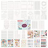 Ultimate Productivity Stencils and Planner Stickers for...