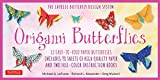 Origami Butterflies Kit: The LaFosse Butterfly Design System - Kit Includes 2 Origami Book...