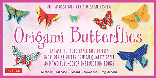 Origami Butterflies Kit: The LaFosse Butterfly Design System (Great for Kids and Adults!)