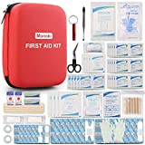 Best First Aid kits - Monoki First Aid Kit, 201 Pcs Emergency Medical Review