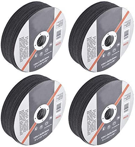 """wholesale 100 Pack 5""""x.040""""x7/8"""" Cut-Off outlet sale Wheel - 2021 Metal & Stainless Steel Cutting Discs outlet sale"""