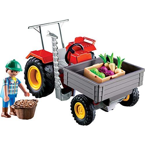 Tractor con segadora Playmobil  - Country (70495)