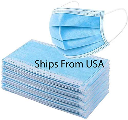 50 PCS Face Mask Disposable for General Use 3 Ply Earloop Pollution Health Protection Protective Dust Filter PPE Mouth Nose Shield