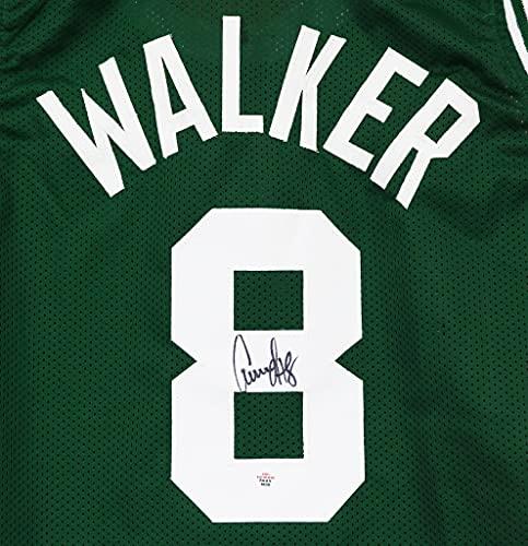 Antoine Walker Boston Celtics Signed Autographed Green #8 Custom Jersey PAAS COA