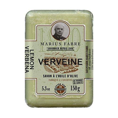 Marius Fabre Savon de Marseille Verveine - EISENKRAUT-Seife - REIN PFLANZLICH - 150 g