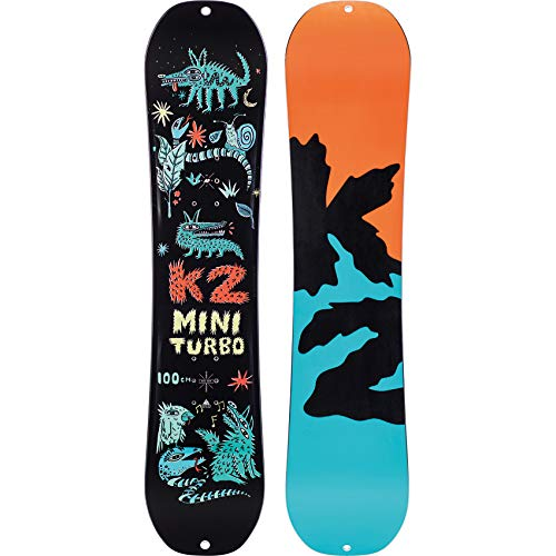K2 11D0028.1.1.100 Mini Turbo - Tabla de Snowboard para niño