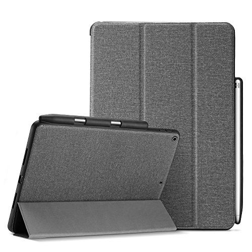 ProCase iPad 9.7 Case, Slank Folio Stand Cover Smart Cover voor iPad 9.7 2018 iPad 6e generatie / 2017 iPad 5e generatie met Apple Pencil Holder iPad 9.7