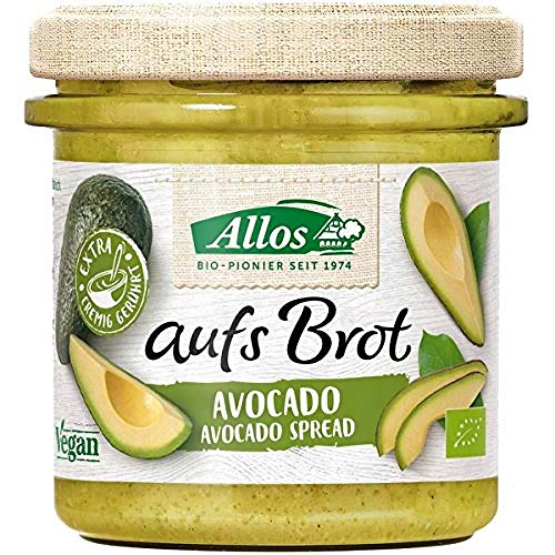 Allos Bio aufs Brot Streichcreme Avocado 6x140g