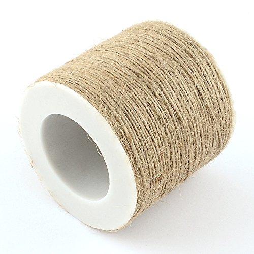 100 m chanvre cordon/Ficelle de chanvre Marron 1 mm