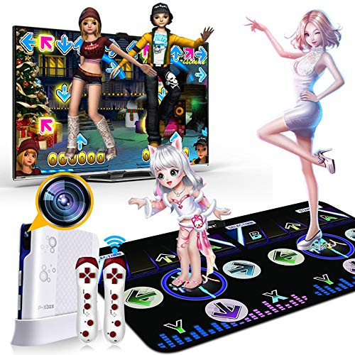 Jouets pour enfants 2020 New Dance Running Fitness Electronic Dance Blanket Home Double Body Motion Game Console TV Home Induction
