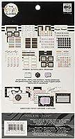 Me & My Big Ideas PLMP-30 ハッピープランナー カード/付箋 マルチパック 黒板 (先生)