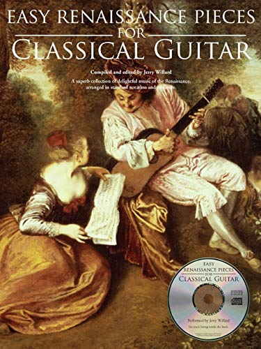 Easy Renaissance Pieces For Classical Guitar: Noten, Bundle, CD, Tabulatur für Gitarre: With a CD of Performances Book/CD