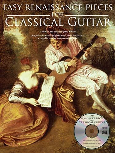 Easy Renaissance Pieces For Classical Guitar: Noten, Bundle, CD, Tabulatur für Gitarre