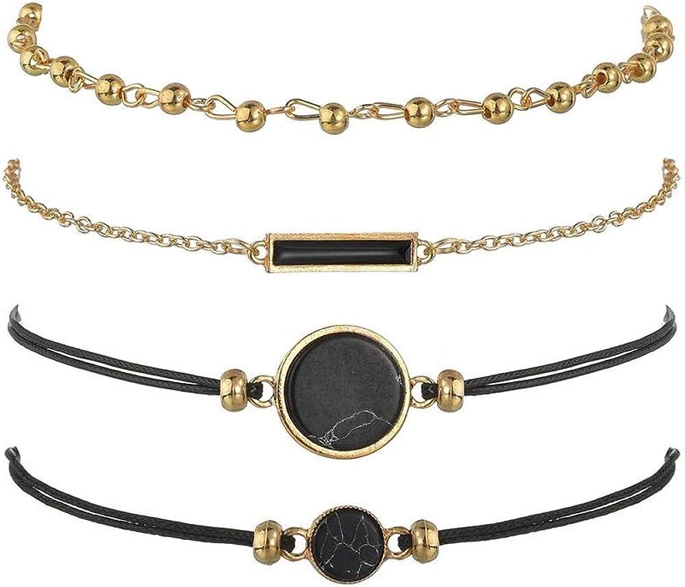 KSMA Beaded Bracelets for Women Charm Adjustable Pendent Challenge the lowest price of Japan ☆ Beade Recommendation -