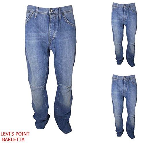 G-STAR RAW Jeans Man Jack Pant Largo Hip Hop Rap Tg W 28 29 30 31 32 33 34 36 Art. 50229.912.536 (W33L34 GIROVITA CM 90)