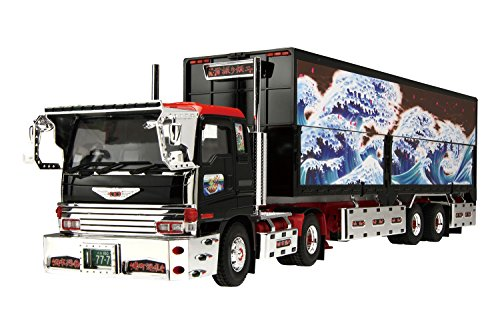 Aoshima 1/32 Value Decoration Truck Series No.18 swing silver two (wing trailer) (japan import)