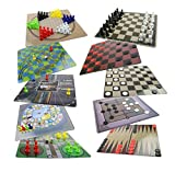 Best Chinese Checkers Game Sets - Board Game Set - 10 in 1 Board Review