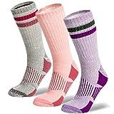 9. Womens Merino Wool Socks Formal, Casual, Thermal, Hiking or Boot Socks 3 Pairs