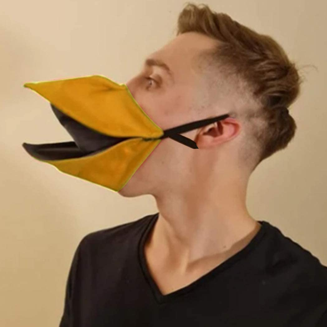 EVILD Funny Costume Mouth Cover Creative latest Cosplay Beak Mask Popular products