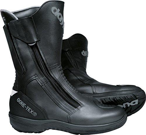 Daytona Boots Motorradschuhe, Motorradstiefel lang Road Star Gore-TEX Stiefel schwarz breite Passform 43, Unisex, Tourer, Ganzjährig, Leder