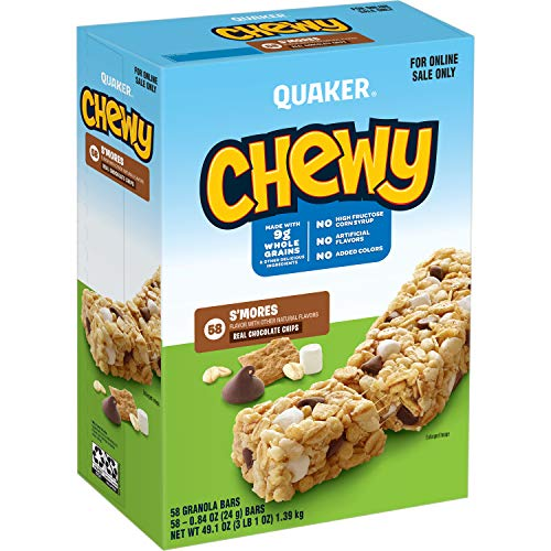 Quaker Chewy S'mores Granola Bars 58-Pack Now $6.03 (Was $12.99)