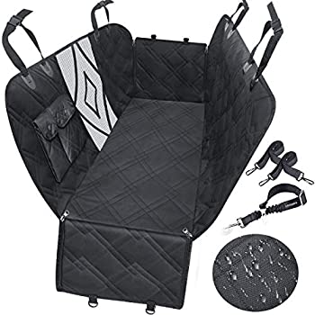 Urpower Upgraded Dog Seat Covers with Mesh Visual Window