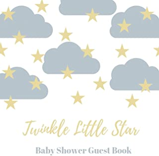 Baby shower guest book (Hardcover): comments book, baby shower party decor, baby naming day guest book, advice for parents sign in book, baby shower ... baby boy guest book, baby girl guest book