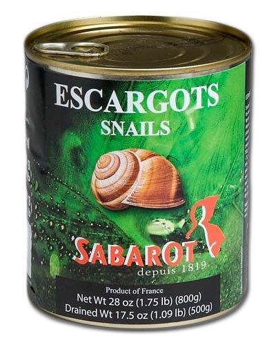 Sabarot - Escargots de Bourgogne 8 douzaines 500g