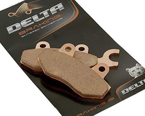 Delta db2880rdn Plaquettes Plaquettes – Kymco 125/150/250 Bet & Win Année de construction 00–06 (avant/arrière)