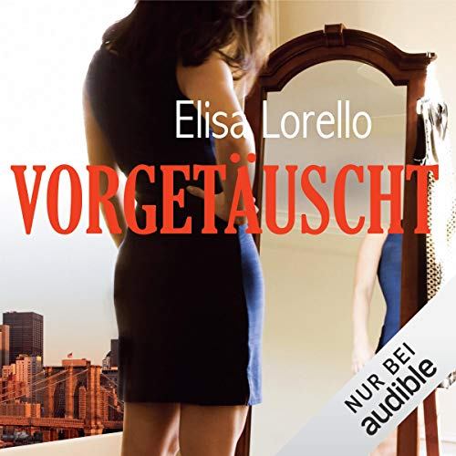 Vorgetäuscht audiobook cover art