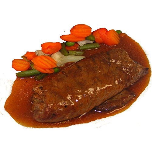 Rinderroulade in Sauce, 1 Portion