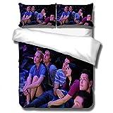 wish ebay Riverdale funda nórdica con impresión 3D, funda de almohada juego ropa de cama, ropa cama para adultos y adolescentes cama doble funda nórdica, textiles para el hogar-K_150x200cm (3pcs)