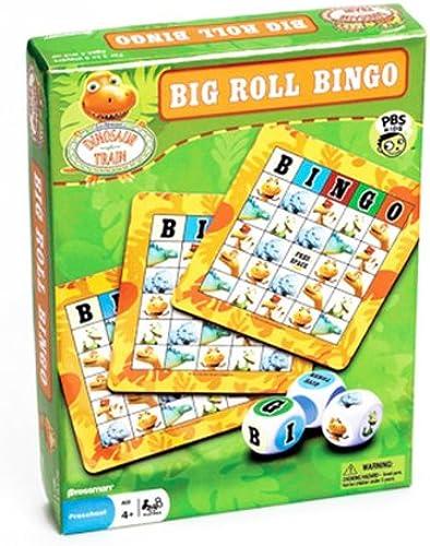 Dinosaur Train Big Roll Bingo Game by Pressman Toy