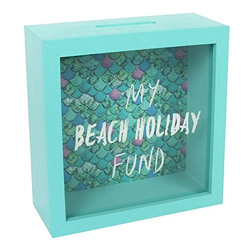 Hucha marco ahorrar ir playa - Color verde