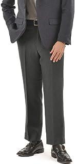 股下のサイズが3種類から選べて裾上げ不要で自宅で洗える機能性抜群のスラックス