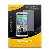 2 x SWIDO® Bildschirmschutzfolie HTC Desire 620 Schutzfolie Folie