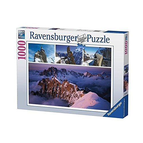 Ravensburger - 19671 - Puzzle Montagne Hiver 1000 pièces
