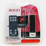 SOGO - Mini TDT USB para Ordenador Sogo Ss-4980 Mini Ditital TDT Stick para Ordenador Portatil con Mando a Distancia y Antena para Exterior