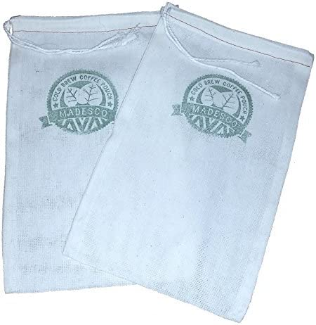 Two One-Gallon Cold Brew Superlatite Superlatite Coffee Filter 3 and 2-pack Pouches Fr