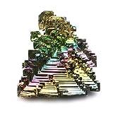 Bismuto cristalino de muestras de bismuto - Grande