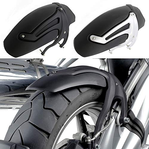 KKJLXX Guardabarros Moto For BMW R Fender neumáticos Hugger Cubierta del Protector de Salpicaduras 1200 GS R1200GS R1200RT R1200ST R1200 GS ADV 2004-2012 Guardabarros Trasero de la Motocicleta