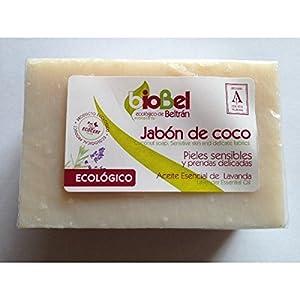 BioBel Jabón Pastilla Coco Eco - 4 Paquetes de 240 gr - Total: 960 gr