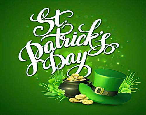 Aluffay St Patrick's Day Diamond Painting Kits, St Patrick's Day, 5D DIY Full Drill Diamond Art Set for Home Wall Decor Adults and Kids 12 x 16 inch