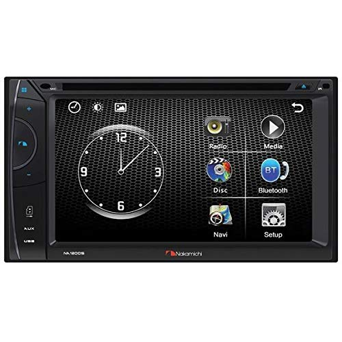 6.2-Inch WVGA Double-DIN in-Dash DVD Receiver with...