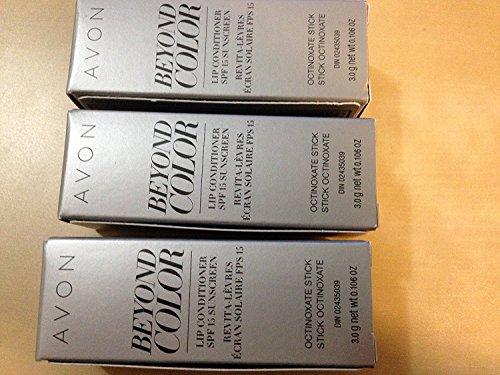 Lot of 3 - Avon Beyond Color Lip Conditioner SPF 15