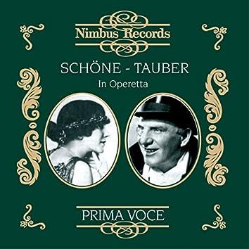 Schöne and Tauber in Operetta
