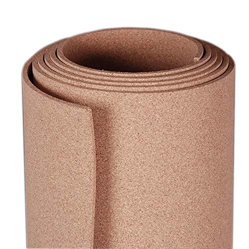 Manton Cork Roll, 100% Natural, 3' x 12' x 1/4