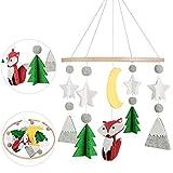 Campana di vento stile nordico,baby campanelli eolici,carillon del vento del bambino per decorazione giostrina e Cameretta Weihnachten